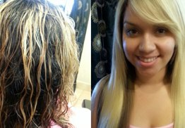 Ladies Brazilian Blow Out Hair Extension