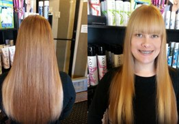 Color Highlights, Hair Extensions By Desiree Dembeck